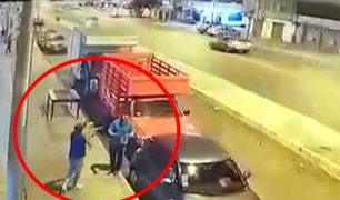 San Miguel: familia es asaltada a escasos metros de una caseta de serenazgo