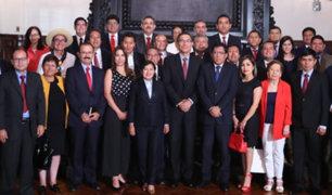 Acción Popular: futuros legisladores se reunieron con Vizcarra en Palacio