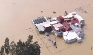 Nueva Zelanda: fuertes lluvias provocaron la evacuación de miles de personas