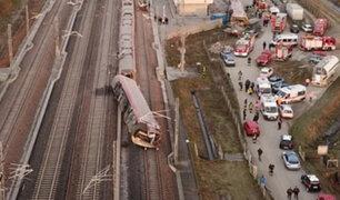 Italia: dos muertos y una treintena de heridos tras descarrilamiento de tren