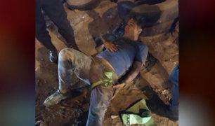 Huachipa: ciudadano venezolano en moto es atacado a balazos