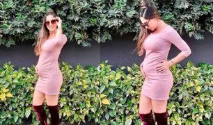 Melissa Loza comparte primeras imágenes de su segunda hija