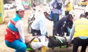 Surco: ciudadano venezolano atropelló a inspector de tránsito