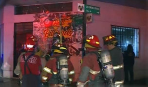Disparan y lanzan bomba Molotov contra un billar del Centro de Lima