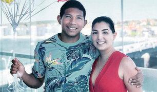 Edison Flores: esposa de futbolista desmiente embarazo