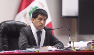 Juez Richard Concepción seguirá en el caso de Alejandro Toledo