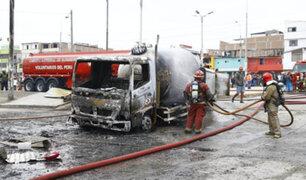 Fiscalía citará a alcaldes de Lima y VES por accidente de camión de gas
