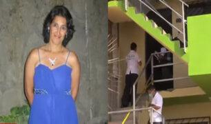 VMT: madre de familia habría sido asesinada por antiguo inquilino de nacionalidad venezolana