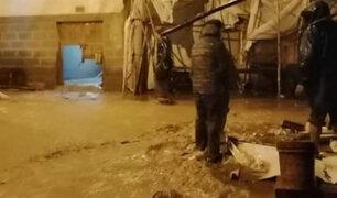 Cusco: se desborda río Kitamayo a causa de las intensas lluvias