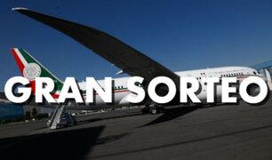 México: rifarán el avión presidencial, confirmó AMLO