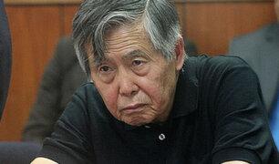 Alberto Fujimori: PJ rechaza hábeas corpus para su liberación ante riesgo de coronavirus