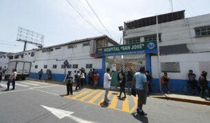 Callao: descartan fuga de gas en los alrededores del hospital San José