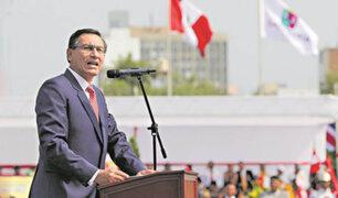 Presidente Vizcarra se pronuncia sobre demanda de  Odebrecht contra el Perú
