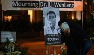 Anuncian investigación tras muerte del médico que alertó del coronavirus