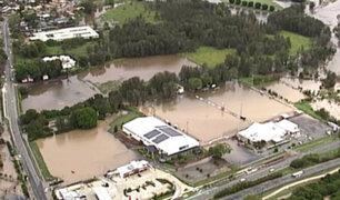 Intensas lluvias ocasionaron inundaciones en Australia