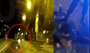Surco: recapturan a ladrón que intentó asaltar a un transeúnte