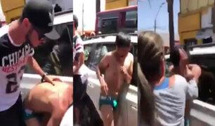 Chile: turba detuvo a delincuentes peruanos que asaltaron a mujer