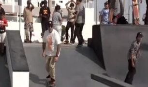 San Miguel: skate park fue remodelado y será sede de mundial de este deporte