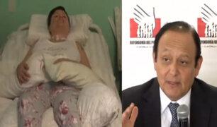 Defensoría respalda a mujer con enfermedad incurable que exige una muerte digna