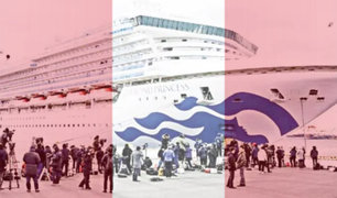 Coronavirus: nueve peruanos se encuentran en el crucero puesto en cuarentena en Japón