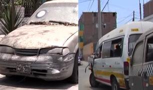 Decreto de urgencia autoriza que vehículos abandonados en depósitos sean destruidos