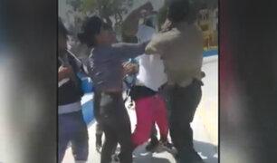 Los Olivos: sujeto golpea a oficial para evitar ser detenido
