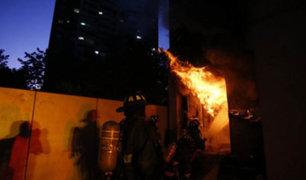 Chile: incendio afectó museo Violeta Parra durante jornada de protestas
