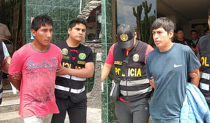 Áncash: capturan a integrantes de peligrosa banda 'Los injertos de Conchucos'