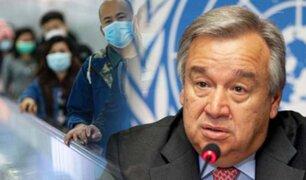 ONU elogia respuesta de China a coronavirus