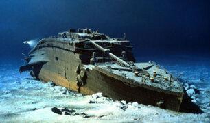 Restos del Titanic fueron golpeados por submarino y Estados Unidos lo mantuvo en secreto