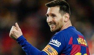 Lionel Messi anuncia que plantilla de Barcelona aceptó rebajar un 70% los sueldos
