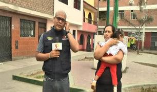 El Agustino: madre pide ayuda para operar a su menor hija