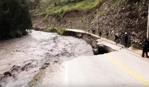 Áncash: pistas en mal estado ponen en peligro a vehículos y pasajeros