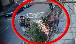 Breña: hombre sufre descarga eléctrica mientras cavaba en jardín