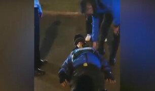 Miraflores: conductor maneja en contra y arrolla a agente municipal