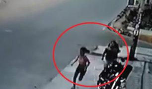 Chorrillos: mujer roba celular a estudiante y huye en una mototaxi