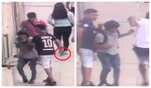 Ate: joven es asaltado con cuchillo de cocina en plena calle