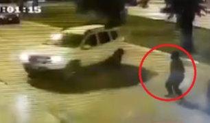 San Borja: víctima logró evitar robo tras rápido accionar