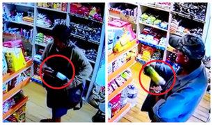 Lince: dueño de minimarket asegura que utilizará pistola para evitar robos