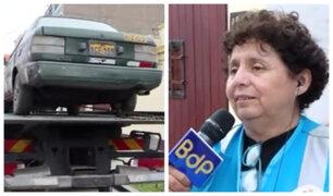 Magdalena: vehículos abandonados en calles son enviados al depósito