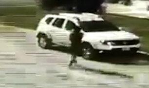 San Borja: delincuentes aprovechan madrugada para robar autopartes de auto