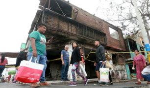 Tragedia en VES: otorgarán bono para mejorar viviendas a damnificados