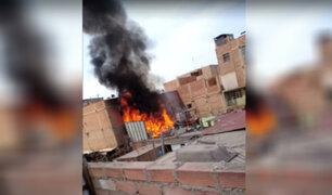 Lurín: dos niños mueren y uno queda herido tras incendio en vivienda