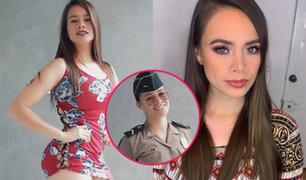 FOTOS: mira como luce la policía Jossmery Toledo sin maquillaje