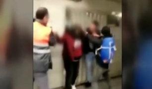 España: metro de Barcelona convertido en el blanco preferido de los delincuentes