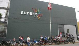Sunarp indicó que huelga de sindicatos había sido declarada improcedente por el MTPE