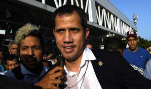 Líder opositor Juan Guaidó arribó a Venezuela
