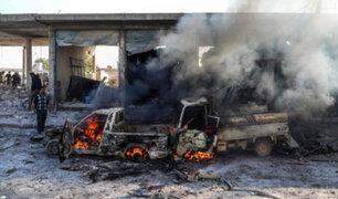 Siria: al menos ocho muertos y 12 heridos dejó atentado con coche bomba