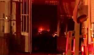 Los Olivos: incendio en galería comercial se habría producido por corto circuito