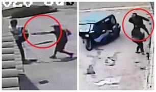 Comas: delincuentes armados utilizan mototaxi para asaltar a transeúntes